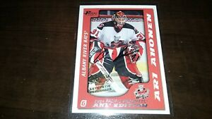 2003-04 Pacific Prospects AHL Autograph ARI AHONEN #1 SP 116/500 Set Break