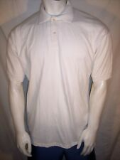 Vintage 75th PGA Championship Inverness Large White Cotton/Poly Golf Shirt USA