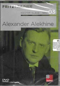 MASTER CLASS - Alexander Alekhine - Volume 3 Chess DVD Fritztrainer Free Ship