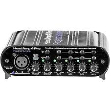 ART HeadAMP 4 Pro Studio Home Project 5-Ch Headphone Amplifier w/ Talkback