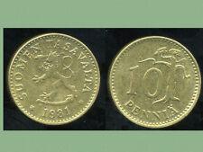 FINLANDE 10 pennia 1981