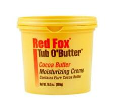 RED FOX TUB O' BUTTER COCOA MOISTURIZING CREAM 298G