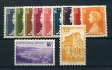 MONACO ANNEE 1957 NEUF XX - TIMBRES NEUFS XX LUXE+++