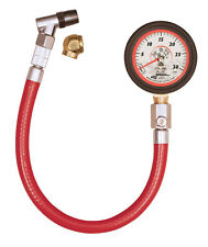 Longacre Motorsport Tyre Pressure Gauge  0-30 PSI With Swivel Chuck & Air Bleed