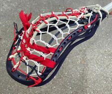 Warrior Regulator X Lacrosse Head Custom Strung With Tradiotional Pocket