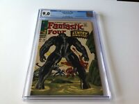 FANTASTIC FOUR 64 CGC 9.0 WHITE PAGES 1ST KREE SENTRY APP LOCKJAW MARVEL COMICS