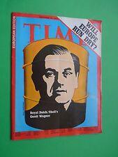TIME magazine Europe 1973 december 10 Royal Dutch Shell's Gerrit Wagner