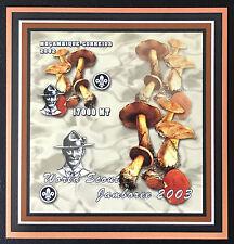 Mozambique 2002**  Pfadfinder/Scouts Pilzen Mushrooms Ungezähnt / Imperf.  MNH