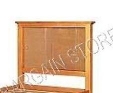 Pottery Barn Teen PBT Shadow Box Picture Display Bed HEADBOARD Twin Natural