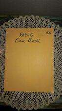 1976 WESTERN WASHINGTON POLICE & FIRE CALL BOOK, AMATEUR RADIO