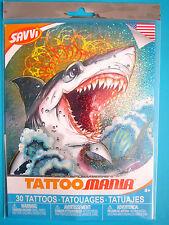 "SAVVI TATTOO MANIA Tattoos 30+  2"" - 1/2"" Made In USA Packaged Brand NEW"