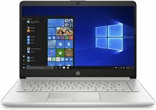 """HP 14-dk0020nr Notebook 14"""" LCD AMD A9-9425 3.10GHz 4GB 128GB DVD+RW Wifi W10H"""