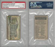N14 Allen & Ginter, General Gov. & State Capitols, 1889, President's, PSA 3 VG
