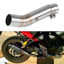 Motorcycle Slip on Exhaust Mid Link Pipe For Honda CBR500R CB500X CBR400R CB400X