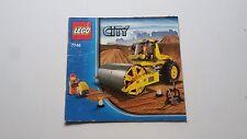 Lego City!!! Instrucciones Solamente!!! Para 7746 Road Roller