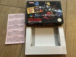 SUPER NINTENDO SNES - KILLER INSTINCT - BOX ONLY