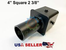 """Tenon 4"""" Square Pole Mount with 2-3/8"""" O.D. Wall Mount Led Lghts"""