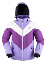 URBAN BEACH WOMEN'S ARROW WINTER SKI / SNOWBOARD JACKET  COLOUR LILAC / WHITE