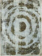 Designer Vintage Picasso Look Jean Wash Perser Teppich Orientteppich 2,62 X 1,97