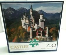 Buffalo Castles Neuschwanstein Castle Bavaria 750 Piece Jigsaw Puzzle New Sealed