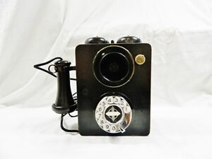 BLACK AUTOMATIC ELECTRIC COUNTRY JUNCTION PHONE