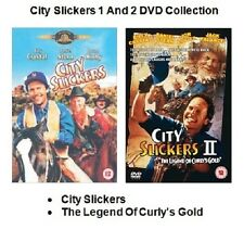 CITY SLICKERS 1 + 2 DVD Billy Crystal and  Film Movie New Sealed and UK Release