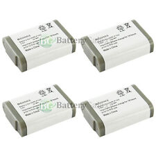 4 NEW Cordless Home Phone Rechargeable Battery for Panasonic HHR-P103 HHR-P103A