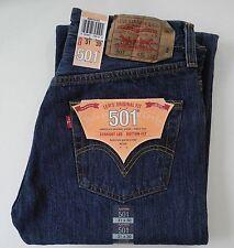 Levi´s 501 Jeans DARK STONEWASHED BLAU  Viele Grössen NEU