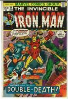 Iron Man #58, VF- 7.5, Mandarin, Unicorn