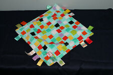 """New listing Bright Starts Little Taggies 12"""" x 12"""" Square Plush Security Blanket Squares"""