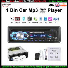 Car Radio Stereo DVD CD Player AUX-IN MP3 USB FM In-Dash LCD Display 1 Din UK