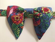 NEW Handmade Vintage style Bow tie 70`s Paisley Coloring Pages Bowtie OOAK