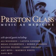 PRESTON GLASS Music As Medicine NEW & SEALED MODERN SOUL R&B CD (EXPANSION)