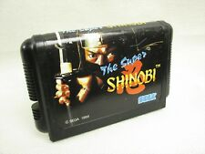 Mega Drive THE SUPER SHINOBI I 1 Cartridge Only Sega Japan Game mdc