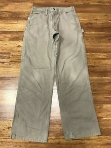 MENS 30 x 30 - Carhartt B11 Duck Dungaree Work Pants