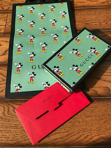 10 x Gucci Mickey Mouse 2020 Red Packets Envelopes New Year Limited