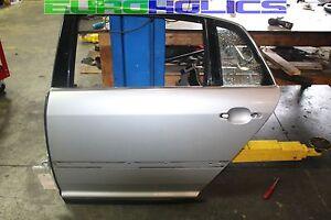 OEM Volkswagen Phaeton 04-06 Left Driver Side REAR Door Shell Silver