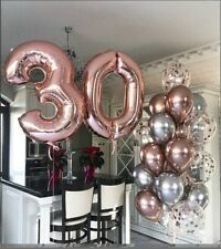 Giant 34inch Blue Unique Birthday Balloon Number 2
