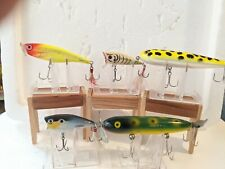 LOT OF FIVE TOPWATER FISHING LURES