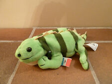 Coca-Cola 1998 Beanie Plush PACO THE IGUANA -MEXICO Soft Toy- Rare Vintage