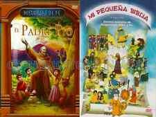 Mi Pequena Biblia & El Padre Pio New Dvd