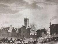 Paris pendant la Révolution Française 1791 Porte de La Chapelle Barrière
