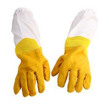 Paar Imkerhandschuhe Langärmelige Schutzhandschuhe Bienenschutz Handschuhe XL