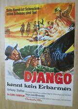Filmplakat - Django kennt kein Erbarmen ( Anthony Steffen , Gloria Osuna )
