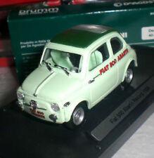 BRUMM VOITURE FIAT 500 ABARTH RECORD ITALIAN CAR 1958 DIECAST ECHELLE 1/43 NEUF