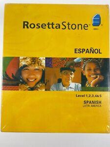 Rosetta Stone® Version 3 : Spanish (Latin America) Level 1,2,3,4 & 5 Set with...