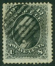 USA : 1861. Scott #69 Used. Fresh stamp with neat cancel. Catalog $100.00.