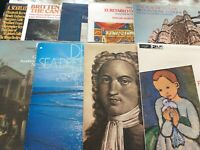 Job Lot of 9 Decca Argo Classical LPs