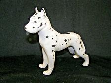 Erphila Germany Harlequin Great Dane Dog Figure