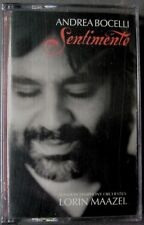 Andre Bocelli: Sentimento (Cassette, 2002, Philips) NEW
